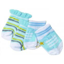 Baby Born Skarpetki Dla Lalki 2pack Biało-żół-nieb