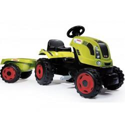 SMOBY Traktor FARMER XL z przyczepą CLAAS