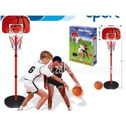 Zestaw Do Gry W Koszykówkę Kosz + Piłka