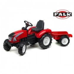 FALK Traktor Garden LAND MASTER + Przyczepka