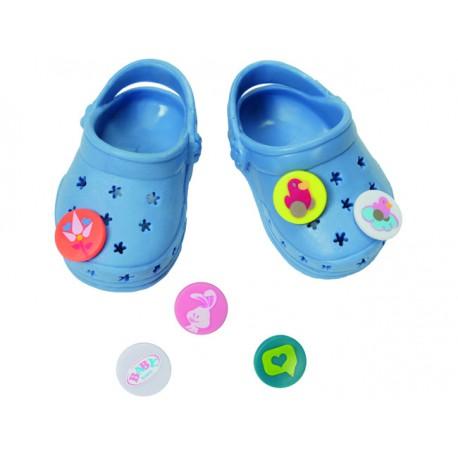 Baby Born Buciki Dla Lalki Crocsy niebieskie