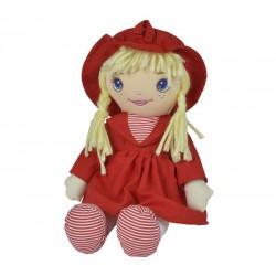 SIMBA Mała Lalka Szmacianka 33cm Czerwona