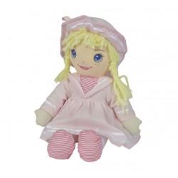 SIMBA Mała Lalka Szmacianka 33cm Różowa