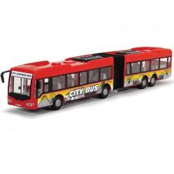 DICKIE Autobus City Express 46 cm Czerwony