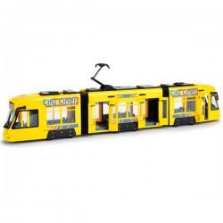 DICKIE City Line Tramwaj Żółty