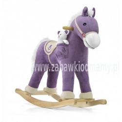 Koń Pony Gray Dot NA BIEGUNACH