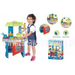 Emily - Kuchnia Z Piekarnikiem niebieska - Dźwięki, Światło, Akcesoria