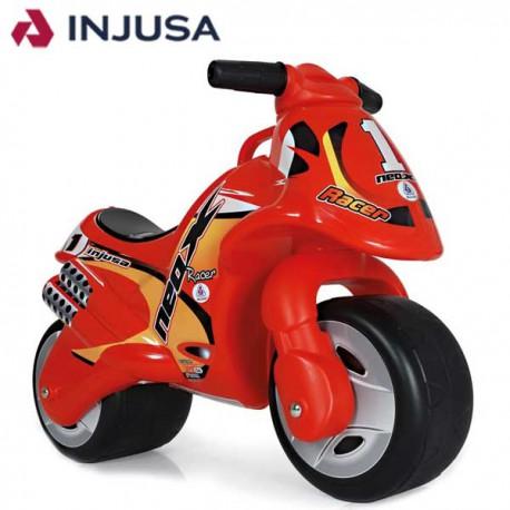 INJUSA Motocykl Biegowy Neox Czerwony