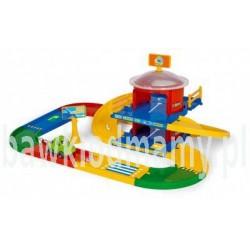 Wader 53020 Kid Cars 3D garaż 2 poziomy z trasą