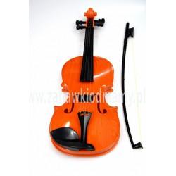 Skrzypce zabawka muzyczna jak prawdziwe