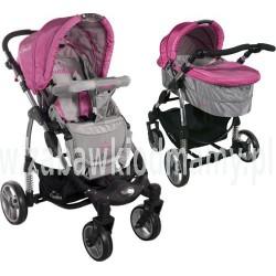 Wózek całoroczny ARTI Concept B800 2w1 Pink/Gray