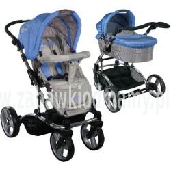 Wózek całoroczny ARTI Concept B800 2w1 Blue/Gray