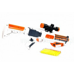 Pistolet na miękkie pociski wyrzutnia przyssawki