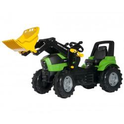Traktor na pedały z łyżką RollyToys rollyFarmtrac Premium Deutz-Fahr Agrotron 3-8 Lat