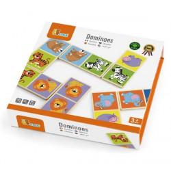 VIGA Gra Domino - Dzikie Zwierzęta