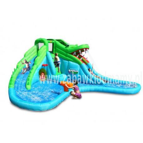 Dmuchaniec Krokodyl Wodna Zjeżdżalnia Zamek Dmuchany HappyHop