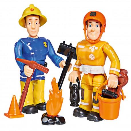SIMBA Strażak Sam 2 Figurki II Sam & Arnold
