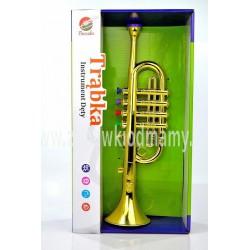 TRĄBKA instrument muzyczny jak prawdziwy SREBRNY