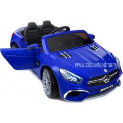 Samochód na akumulator MERCEDES SL65 niebieski