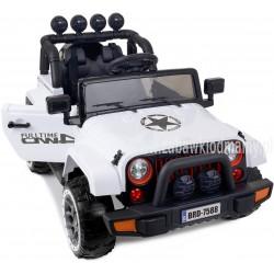 Samochód na akumulator JEEP BRD-7588 biały