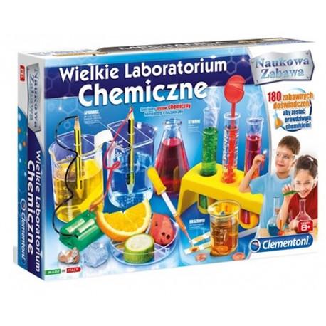 CLEMENTONI Wielkie Labolatorium Chemiczne