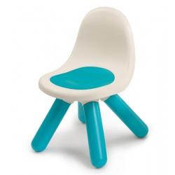 Krzesełko z oparciem Smoby w kolorze niebieskim