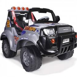 Feber Duży Jeep samochód na akumulator 12V światła