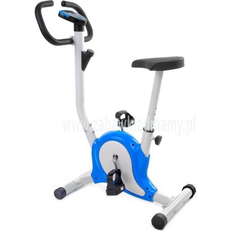 Rower treningowy mechaniczny - niebieski