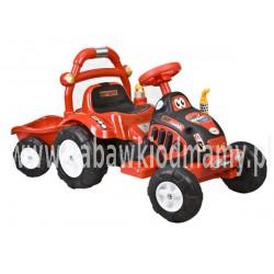 Traktorek na akumulator czerwony