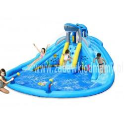 Dmuchaniec HappyHop Zamek Wodny Podwójna Zjeżdżalnia Basen