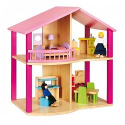 VIGA Domek dla Lalek - Pink