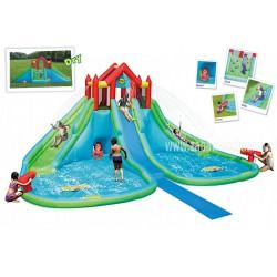 Dmuchany Mega Park Wodny HappyHop Splash dmuchaniec