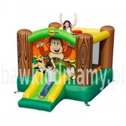 Dmuchany plac zabaw Happy Hop - Goryl + piłeczki gratis dmuchaniec