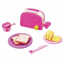 Zabawka Toster i Zestaw Śniadaniowy Classic World
