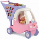 Wózek na zakupy dla dzieci Cozy Coupe Little Tikes różowy