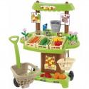 Ecoiffier Sklep z warzywami i owocami 35 akcesoriów