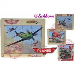Eichhorn Samoloty Puzzle PLANES w ramce 4 rodz Disney