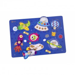 Układanka Puzzle Z Pinezkami Kosmos Classic World