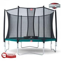 BERG Trampolina Favorit 430 cm Siatka Comfort + BIG Ogrodowa Fontanna GRATIS!