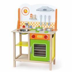 Viga Toys Kuchnia Drewniana dla dzieci Fantastic Z Akcesoriami