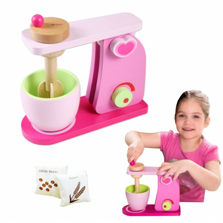 Drewniany Mikser AGD Zabawka dla dzieci Classic World