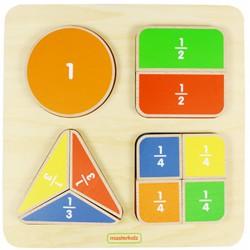 Matematyczna Tabliczka Edukacyjna Dzielenie Ułamki Masterkidz