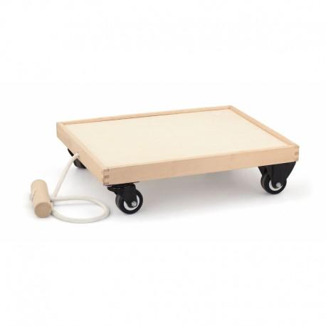 Drewniany Wózek dla dzieci do ciągnięcia Viga Toys