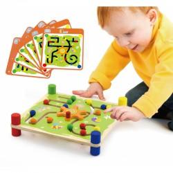Drewniana Gra Edukacyjna Viga Toys Trop i Śledź