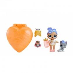 LOL Surprise Bubbly - Pomarańczowa walizeczka z niespodzianką