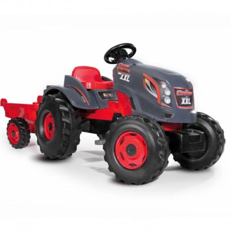 Ogromny Traktor XXL Stronger z Przyczepą Smoby