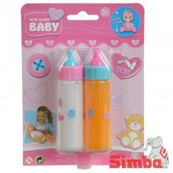 Magiczna Butelka New Born Baby ze znikającym pokarmem dla lalki Simba