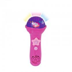 Simba - Różowy mikrofon Karaoke Światło Dźwięk