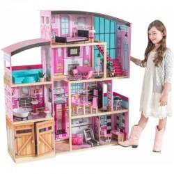 Drewniany Domek Dla Lalek Shimmer Mansio Kidkraft