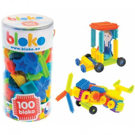 Mochtoys Klocki Pin Bricks 100 Elementów w Tubie